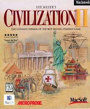 Civilization II - Brand New in Sealed Big Box - Mac Strategy