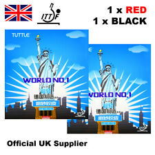 Tuttle World No.1 Table Tennis Rubbers 1 Pair Fast & Free Official UK Supplier