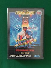 Sega Mega Drive - Street Fighter II - Capcom PAL