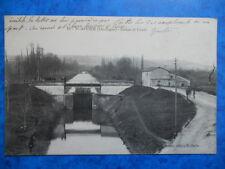 SAINT-ASTIER  :  Ecluse et Canal......VO.1915.