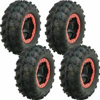 2 FRONT 26x9-12 & 2 REAR 26x10-12 INTERCO SWAMP LITE ATV UTV TIRES (4 PACK)