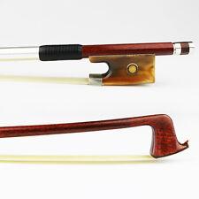 NEW 4/4 Size Carbon Fiber Core Hybrid Pernambuco Violin bow, Ox horn Frog