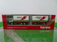 Herpa 1/87 - 859010 MAN Hängerzug 3/2 Wandt Braunschweig