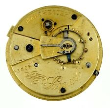 H. SAMUEL MANCHESTER LEVER POCKET WATCH MOVEMENT SPARES OR REPAIRS G82