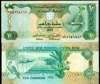 DESIGN ZAYED UNC UAE UNITED ARAB EMIRATES 100 DIRHAMS 2018 2019 P NEW COMM
