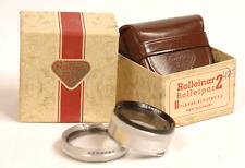 Rolleiflex ROLLEINAR ROLLEIPAR 2 Bay II for PLANAR XENOTAR 3.5 Lens 3.5F 3.5E