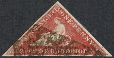 Cape of Good Hope 1863-4 SG18 1d Deep Carmine-Red 3m Cat.£325.00.
