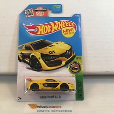 Renault Sport Rs 01 #79 * Yellow * 2016 Hot Wheels * E10