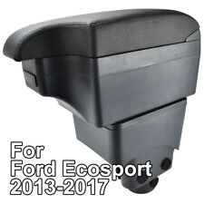 Black Car Central Console Styling Armrest For Ford Ecosport 2013 - 2017 14 15 16