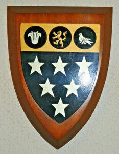 Ratcliffe College school plaque shield coat of arms crest