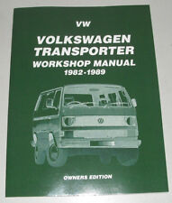 Reparaturanleitung VW Bus Transporter Caravelle T3, 1982 - 1989 wassergekühlt