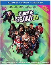 Suicide Squad (3D Blu-ray disc ONLY, 2016)