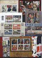1978 - 2007 MINT MNH Mini / Miniature Sheets & Years Sets - UPDATED YEAR + SETS