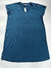 Evans Blue Long Sleeve Lace Trimmed Nightdress BNWT Size 22//24