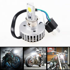H4 Car Motorcycle 18W 2000LM COB LED High Low Beam Headlight Driving Head Bulb