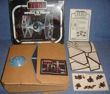Star Wars BATTLE DAMAGED TIE FIGHTER original KENNER 1983 ROTJ KOMPLETT !