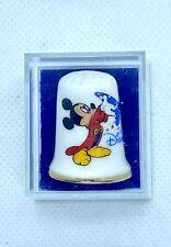 More details for walt disney mickey mouse disneyland 1928 california fine china souvenir thimble