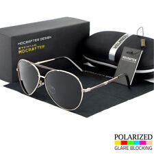 Black Polarized Aviator Men's Glasses Outdoor Sports Eyewear Driving Sunglasses