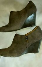 Clarks Artisan Wedge Booties Shoes (s7)