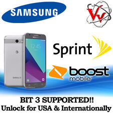 Remote Unlock Service SAMSUNG J3 Emerge J327P Sprint Boost Virgin