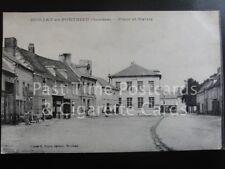 Somme DOMART en PONTHIEU - Place et Maivie, Old Postcard  140515