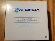 Aurora Low Voltage Emergency Lighting Pack.