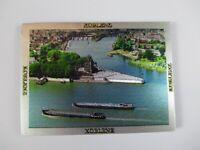 Koblenz Schiffahrt  Premium Souvenir Magnet,Germany Deutschland ,Laser Optik !