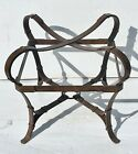 Vintage Hermes style equestrian strap style table
