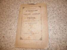 1878.thèse droit.Nullité de la vente.Henry Testard de Marans (envoi)