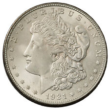 1921-S $1 Morgan 90% Silver Dollar GEM BU Brilliant Uncirculated SKU53159