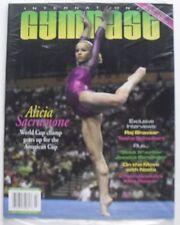ALICIA SACRAMONE March 2005 INTERNATIONAL GYMNAST Magazine  MINT SEALED!