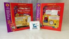 Brighter Child Science Kit Combo Air&Water, Bugs&Insects NIB
