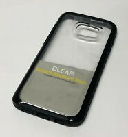 OtterBox Symmetry Clear Cover Case for Samsung Galaxy S7/S7 Edge - Clear/Black
