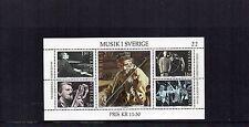 SWEDEN 1983 MUSIC MINIATURE SHEET UM/MNH SG MS1170