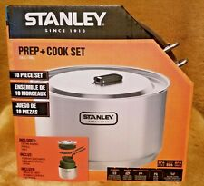 Stanley Adventure Series 10 Piece Stainless Prep Cook Set New Camping Hunting