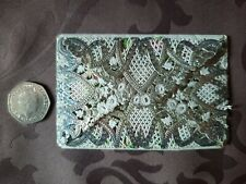 More details for victorian paper lace birthday card and envelope.