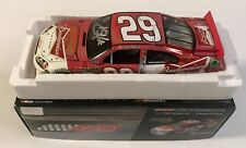2011 Kevin Harvick Budweiser Bowtie Can NASCAR Signed Auto 1/24 Diecast Car COA
