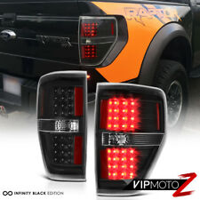[BLACK OUT] 2009-2014 Ford F150 LED SMD Rear Brake Tail Lights Lamps PAIR LH RH