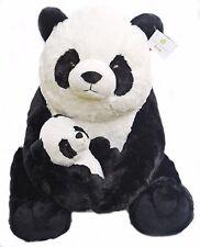 "NEW Giant Pandas Plush Stuffed Animals 18"" Teddy Bear & Baby Panda Kids Toys NWT"