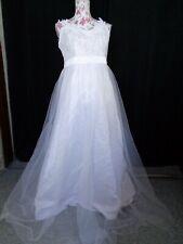 (64)Edles Damen Braut Standesamt Abend Kleid GR: 42