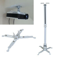 Projector Ceiling Wall Mount Bracket LED LCD DLP Monitor Tilt Tilting Extendable