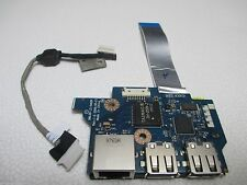 Dual USB & Ethernet Port Board w/Ribbon LS-5402P for Acer Aspire 5534