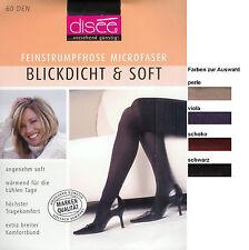 BLICKDICHT+SOFT  Microfaser-Strumpfhose, 60den, div. Fbn.+Gr.  *disee*