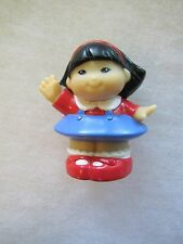 Fisher Price Little People PATRIOTIC SONYA GIRL 4th of JULY USA CELEBRATION Red