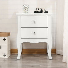 Bedside Chest Side Table with Drawers Cabinet Camille 2 Drawers