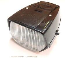 Zündapp Scheinwerfer eckig Grau mit Schalter und Absteller ZR 10 Typ 447
