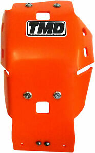Full Coverage Orange Skid Plate TMD. KTMC-455-OR For 16-17 KTM Husqvarna 450