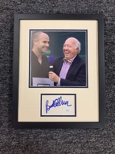 Bud Collins Signed Cut Jsa Auto Tennis Announcer