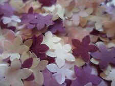 15 Amarillo Brillo 3D Flores Boda Papelería Toppers Confeti De Mesa