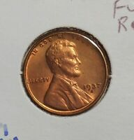 1937S Lincoln cent - premium uncirculated - UNC wheat penny 1937 S